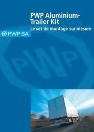 PWP Aluminium- Trailer Kit - PWP SA