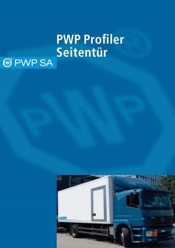 PWP Profiler Seitentür - PWP SA