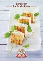 Rezept Limburger Sandwich-Spiess