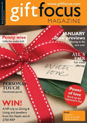 Download Issue 74 Low-resolution - Gift Focus magazine