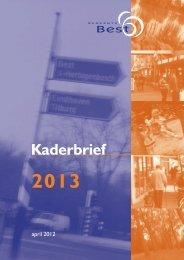12043 - Kaderbrief 2013 - Gemeente Best