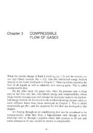 Chapter 3 COMPRESSIBLE FLOW OF GASES