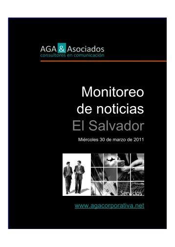 Monitoreo-local-El-Salvador-30/03/11 - AGA & Asociados