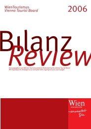 Geschäftsbericht 2006 - B2B Service for the tourism industry - Vienna
