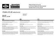 PUMA-CE (B) electronic - Berkel Sales & Service, Inc