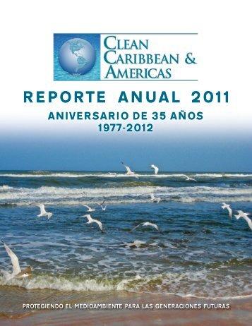 REPORTE ANUAL 2011 - Clean Caribbean & Americas