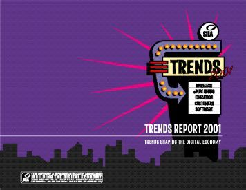 TRENDS REPORT 2001 - Software & Information Industry Association