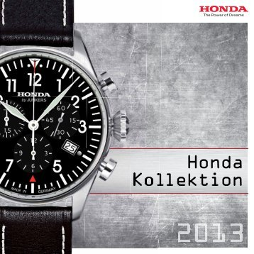 Flyer Honda Kollektion