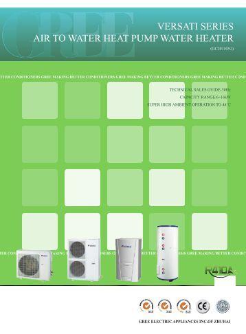 Gree heat Pump Manual