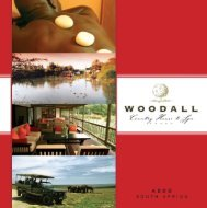 download brochure - Woodall Country House