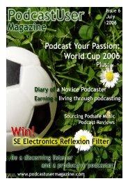 PUM (Issue 6 - Podcaster User Magazine