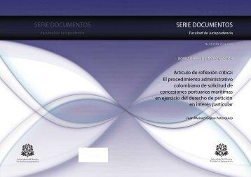 serie documentos serie documentos - Repositorio Institucional ...