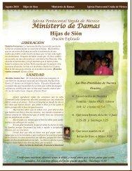 Boletin Hijas de Sión - Iglesia Pentecostal Unida de México, IPUM