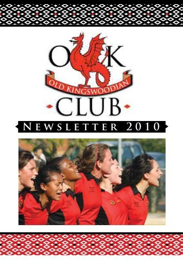 the annual OK Club Newsletter - Kingswood College