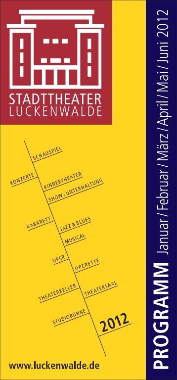 Theaterheft_Internet.cdr - Stadt Luckenwalde