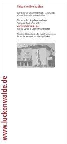 Theaterheft_Internet.cdr - Stadt Luckenwalde - Page 2