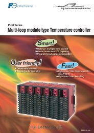 Module type Temperature Controller (ECNO:1162b) - Fuji Electric