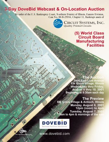 Circuit Systems brochure