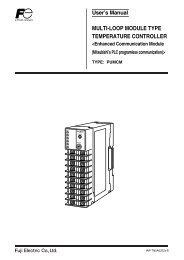 multi-loop module type temperature controller - Fuji Electric