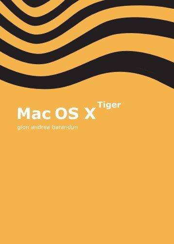 Mac OS X - Tiger - pumera