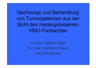 Dr. Kerstin Zeise, HNO-Ärztin