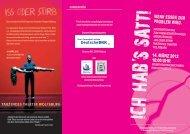 Programm zum Informationstag Essstörungen - Selbsthilfe ...