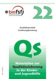 QS22 - Bundeskonferenz für Erziehungsberatung