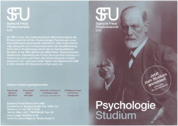 Psychologie- Folder LINZ