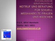 Wie gelingt Kooperation bei sexuellem Missbrauch? Martina Schwarz