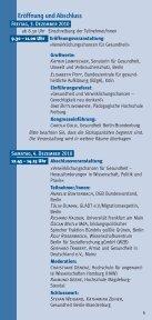 Programm 16. Kongress Armut und Gesundheit - Good Practice ... - Seite 5