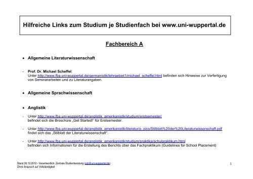 Germanistik uni wuppertal
