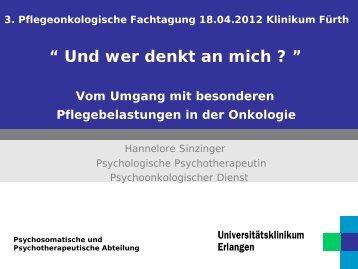 Vortrag zum Download - Klinikum Fürth