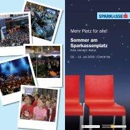 Sommer am Sparkassenplatz