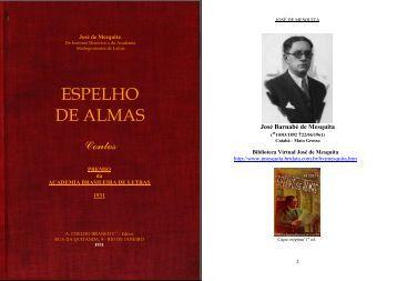 Espelho de Almas (Contos, Premiado pela Academia Brasileira