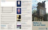 Bücher zu Tod und Trauer - Pustet Verlag