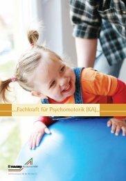 Fachkraft für Psychomotorik (KA) - Kolping-Bildungswerk ...