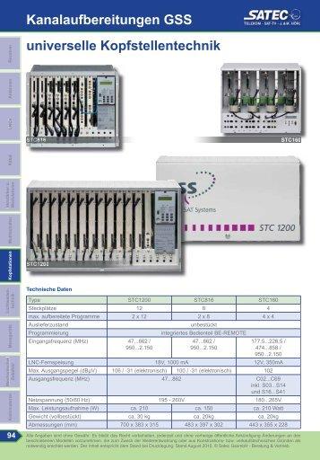 STC1200, STC816 - SATEC
