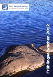 New Swedish Design Gesamtkatalog Frühjahr 2012