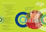 Fortbildungsverzeichnis 2011 - Deutsche Gesellschaft für ...
