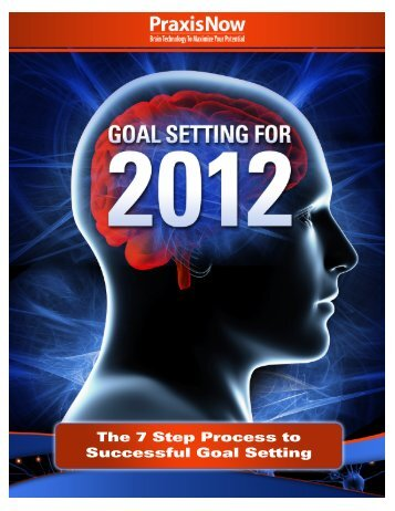 The 7 Step Process to Successful Goal Setting - PraxisNow