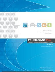 Professional Print Accounting And Management - PrintUsage Pro