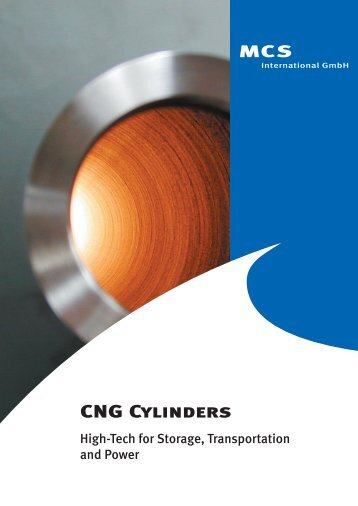 CNG Cylinders - MCS international GmbH