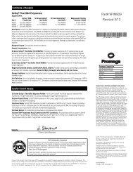 GoTaq Flexi DNA Polymerase Product Information Sheet ... - Promega
