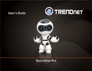 TRENDnet User's Guide Cover Page