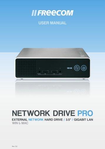 Download free pdf for freecom network drive pro storage manual.
