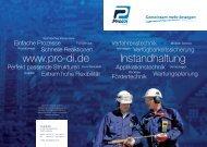 Pro-Di GmbH Instandhaltung