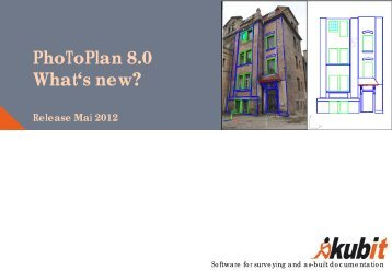 PhoToPlan 8.0 What's new? - download - Kubit GmbH