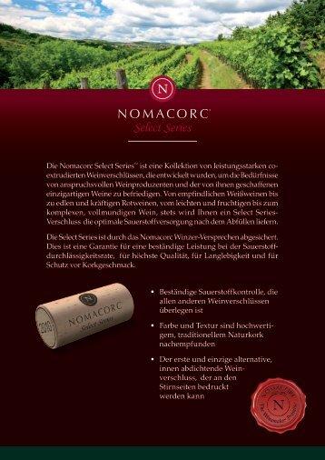 weitere Informationen - Nomacorc
