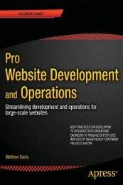 Pro Website Development and Operations: Streamlining DevOps for ...