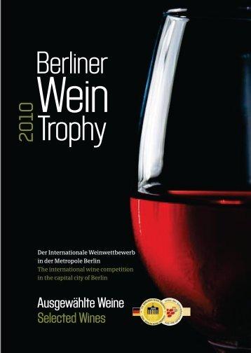 Handbuch Prowein - Berliner WeinTrophy